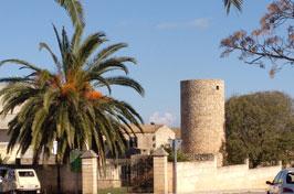 Turm in Petra